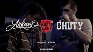 ARKANO vs CHUTY Oficial FMS Málaga Jornada 3
