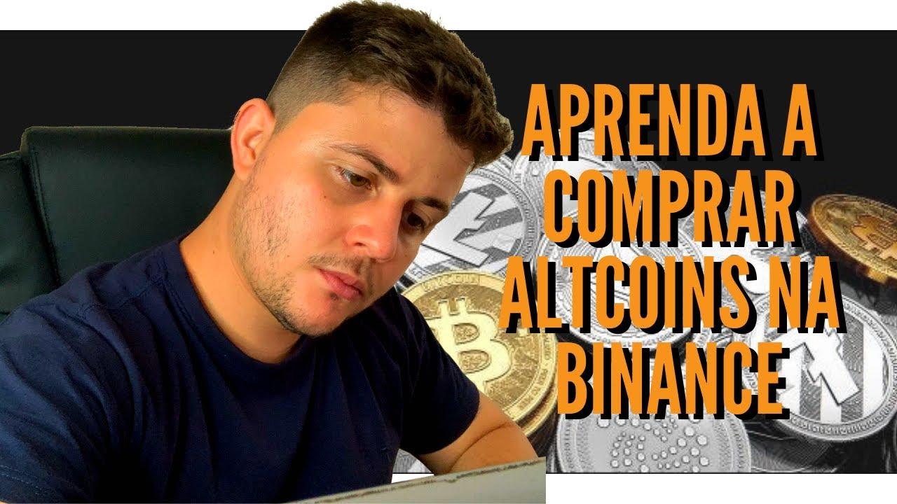 BINANCE | COMPRANDO ALTCOINS NA BINANCE