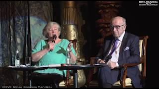 XXXVII FHMazurkas- Benefis Bożeny Kociołkowskiej -rozmowa na proscenium