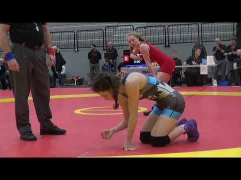 2018 Guelph Open WW50kg Augusta Eve (Impact) vs Jade Dufour (Concordia)