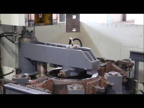 Vertical Single Face Milling for Axle