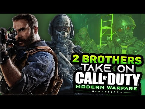 """2 BROTHERS PLAY COD MWR STORY - """"THIS IS WHERE IT ALL BEGINS!"""" LONG PLAYTHROUGH"""