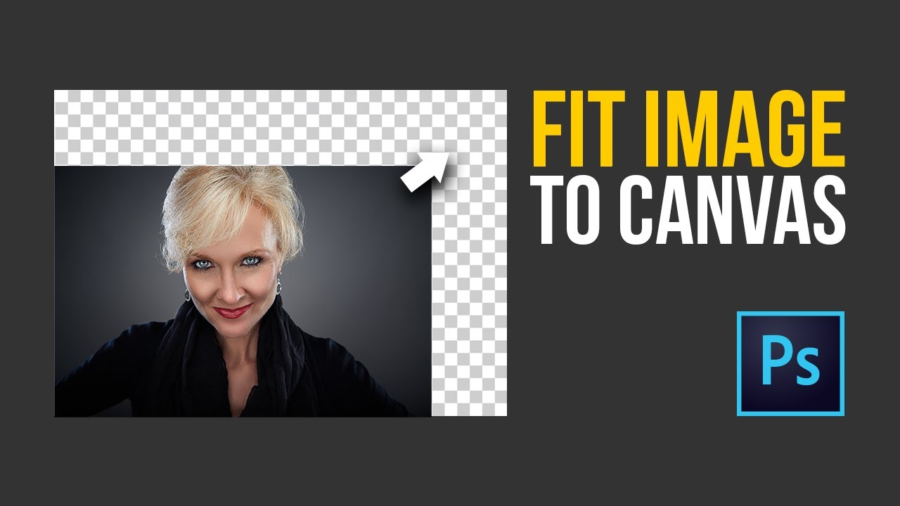 Fit Image to Canvas Automatically in Photoshop