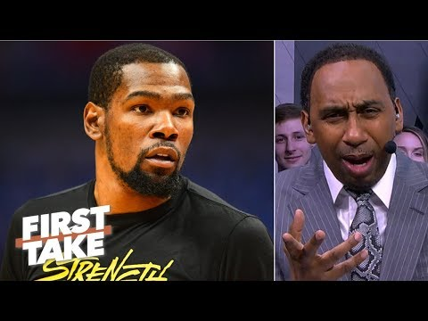"""I am officially concerned about the Warriors"" - Stephen A. 