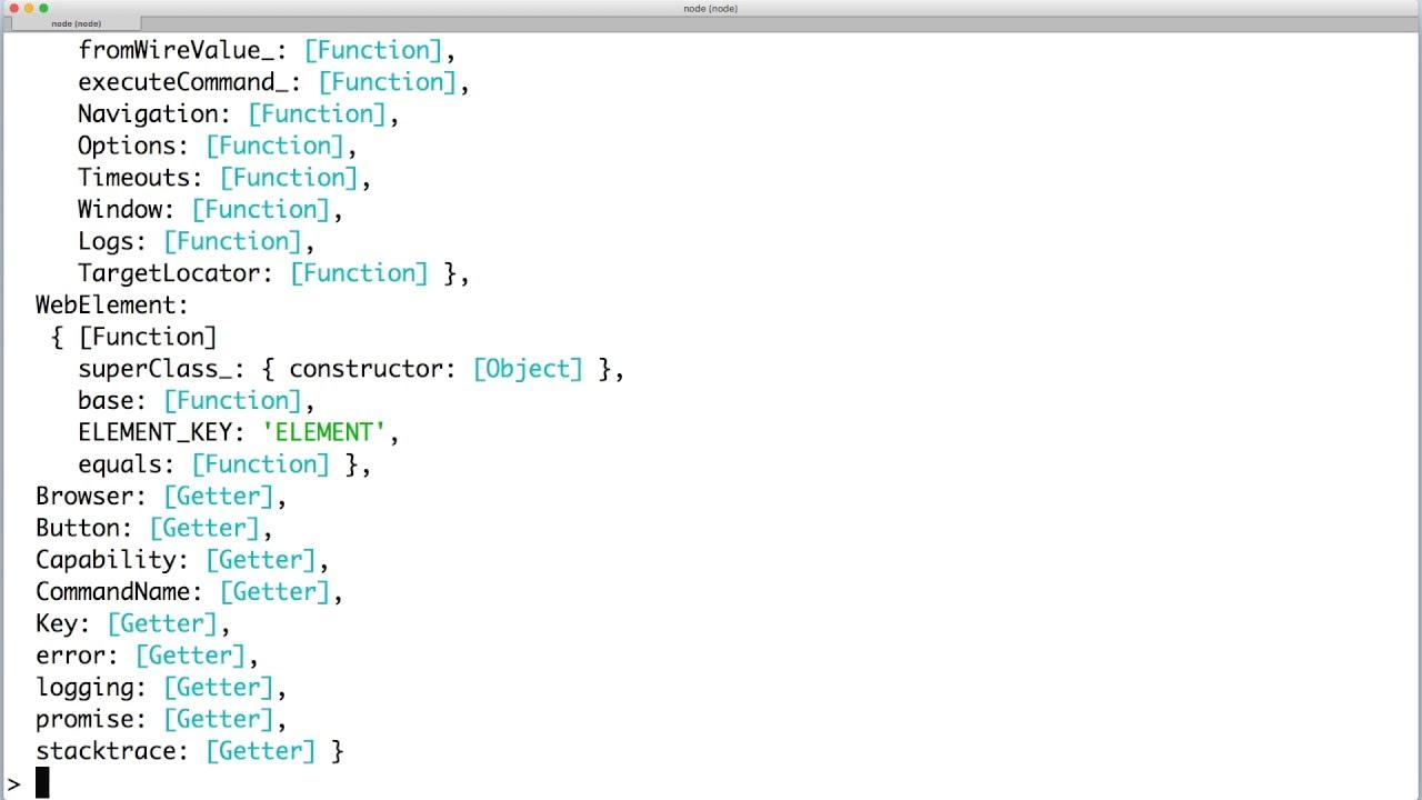 How to install selenium-webdriver « WebDriverJS — Selenium WebDriver for  Node js
