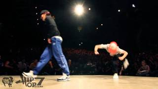 MOVIE ONE vs NADIA - Hip Obsession 7 Bgirl 1on1 Semi-Final Battle 2011 YAK FILMS