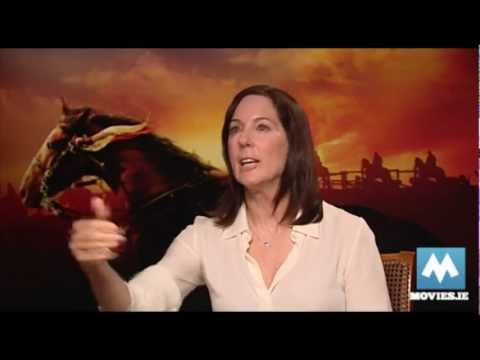 Interview with Steven Speilbergs longterm producer Kathleen Kennedy