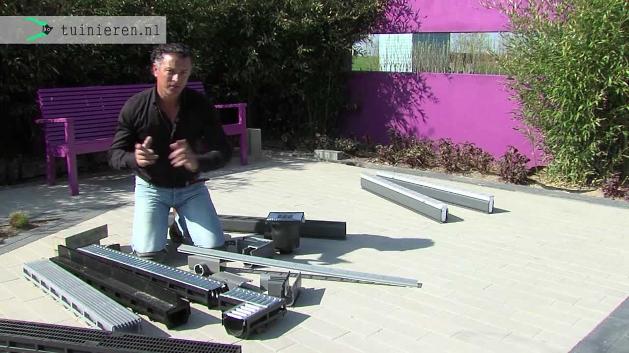Afvoergoot Tuin Gamma : Hoe kan ik drainage aanleggen in de tuin? tuinieren.nl youtube