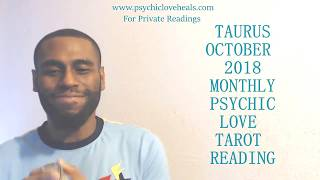 "TAURUS OCTOBER 2018 ""HONEST ONLY BEHIND CLOSED DOORS? SECRET WORLD AND THE REAL WORLD"" LOVE TAROT"