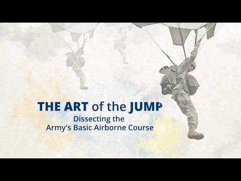 U.S. Army's Basic Airborne Course: The Art Of The Jump