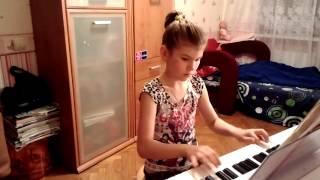 Лиза Виноградова 8 лет танец маленьких лебедей
