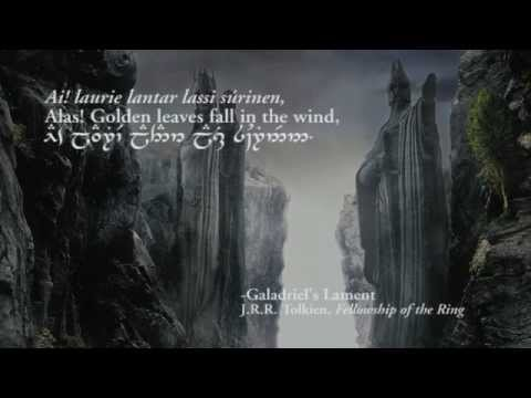 Lord of the rings lothlorien the great river