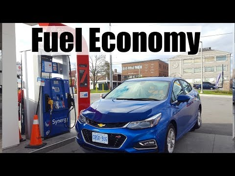 2018 Chevrolet Cruze Diesel - Fuel Economy MPG Review + Fill Up Costs