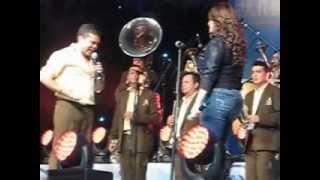 QUE ME VAS A DAR SI VUELVO--LA ARROLLADORA Y JENNI RIVERA EN LAS FIESTAS DE OCTUBRE 2012