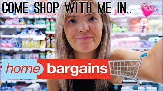 COME SHOP WITH ME IN HOME BARGAINS! | NEW IN JULY 2019 | HARRIET MILLS