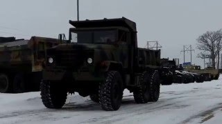 M929 5 Ton 6x6 Military Dump Truck