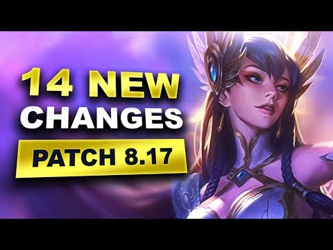 14 New Changes in Patch 8.17 (League of Legends) thumbnail