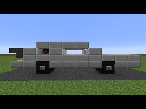 Minecraft Tutorial Back To The Future Delorean Youtube