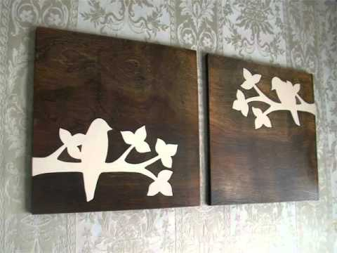 Wood Decoration For Wall  Decor Pictures Ideas  YouTube