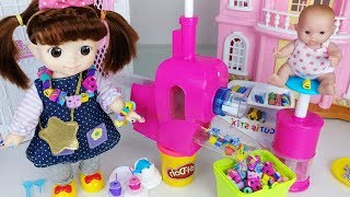 Jewelry maker toys and Baby doll shop play - 토이몽
