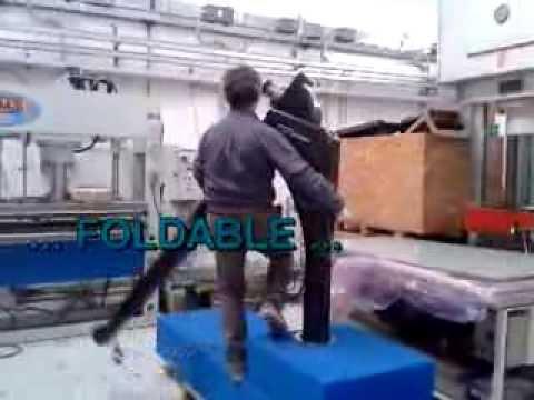 Foldable Carbon Davits to Lift Jet Ski - FEMstrutture