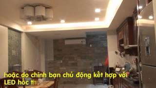 Nghệ Thuật chiếu sáng trong nhà bằng đèn LED Downlight Âm trần