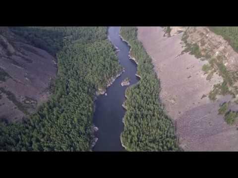 Малый Енисей. Байбалыкский порог. Стрелка. Горные реки Сибири.