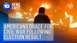 Millions Of Americans Bracing For Civil War Ahead Of U.S. Election Result