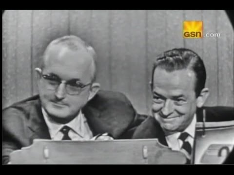 Whats My Line?  Tommy & Jimmy Dorsey Oct 16, 1955