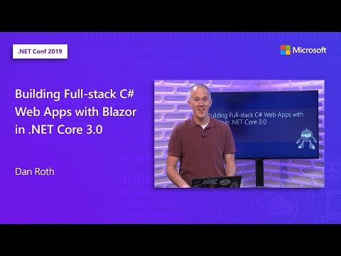 Building Full-stack C# Web Apps with Blazor in .NET Core 3.0 thumbnail