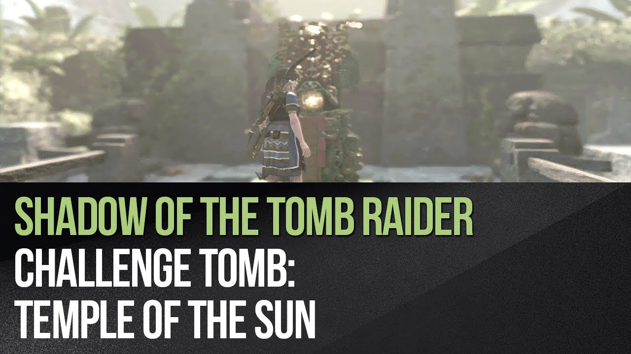 Challenge Tombs - The Hidden City in Shadow of the Tomb