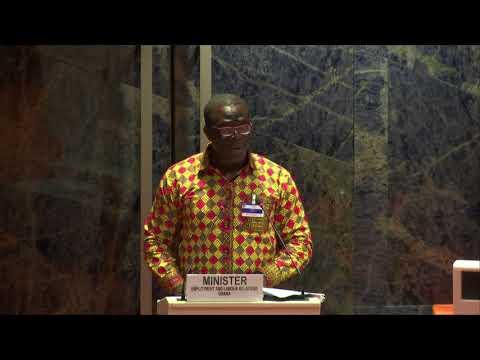 Keynote Address by Ghana President H. E. Mr. Nana Akufo-Addo delivered by MP