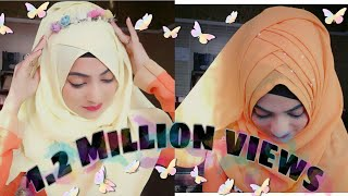 Spring Season inspired Hijab styles.. Let's welcome Spring with Lots of colors and flowers