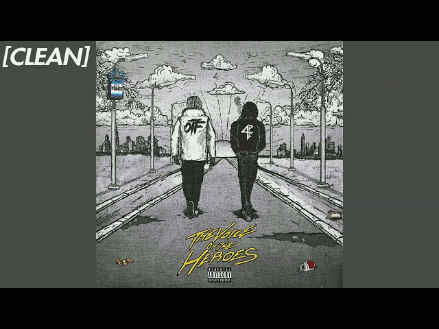[CLEAN] Lil Baby & Lil Durk (feat. Travis Scott) - Hats Off