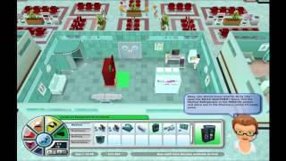 Hospital Tycoon Første 20 min PC