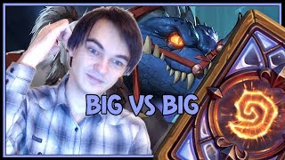 Hearthstone: Big vs big (big druid)