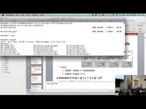 Lecture 01 Course Overview