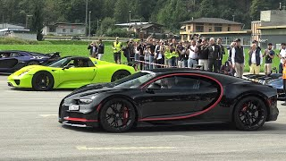 DRAG RACE of the Year 2019! CHIRON vs. 918 SPYDER and many more!