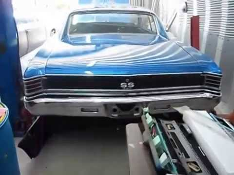 Eric's 67 Chevelle's Dash Bezel Change & Radiator Talk
