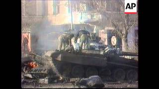 Chechnya/Russia - Fighting Continues