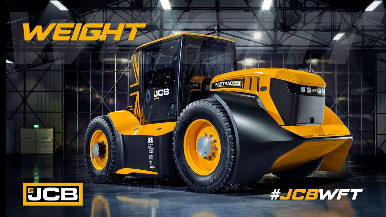 Weight - JCB WFT Fastrac, the World's Fastest Tractor