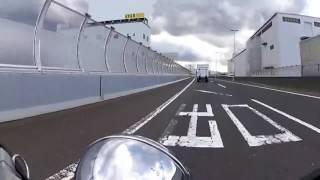 HONDA V-TWIN MAGNA Motovlog #010 初めての高速道路