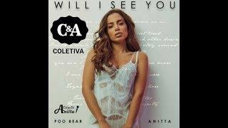 Baixar Anitta na Coletiva de imprensa no lançamento do clipe 'Will I See You'.
