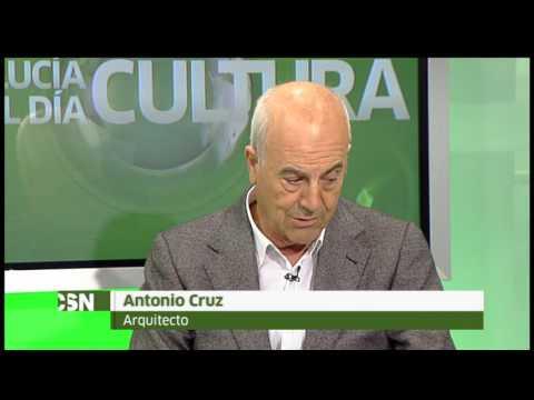 Jesús Vigorra entrevista a los arquitectos Antonio Cruz y Antonio Ortiz en Andalucia TV.