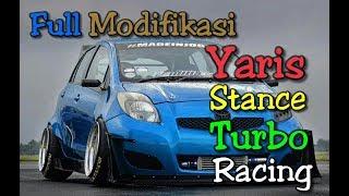 Toyota Yaris Full Modifikasi - full stence - full ceper - Yaris Vleg keren - Modif Yaris Turbo