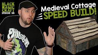 Medieval Cottage For D&D Tutorial (Black Magic Craft Episode 058)