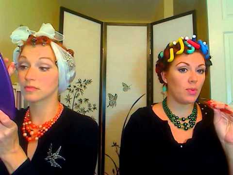 Gentlemen Prefer Redheads!~ Marilyn and Jane Inspired Looks By: Lulu and Ashley