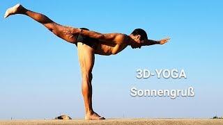 Sonnengruß für Fortgeschrittene_3D-YOGA