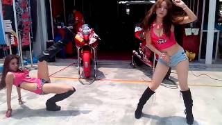 20140420  台灣大賽車 重機女孩熱舞(1)
