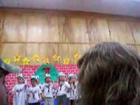 Zoë's Kindergarten Christmas Concert PT 1